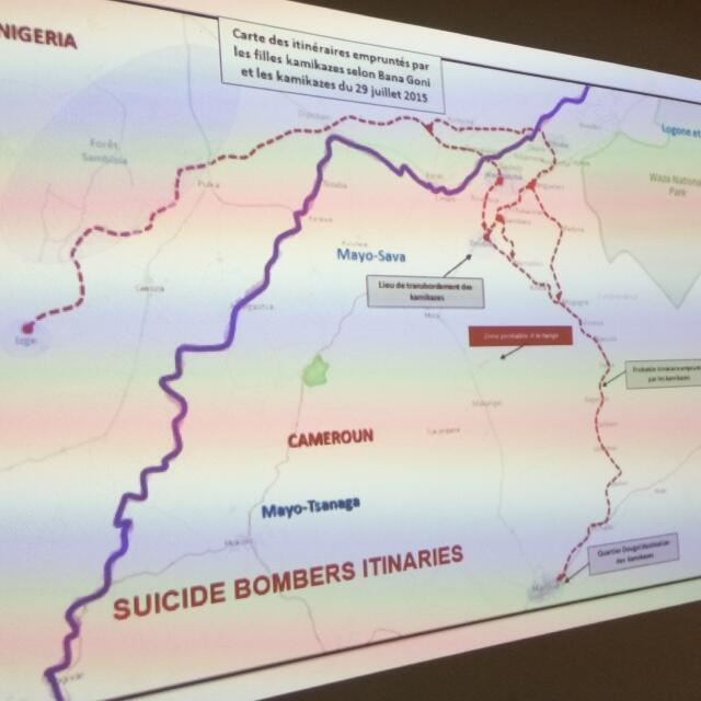 Le BIR a reconstitué l'itinéraire de deux kamikazes interpellées avant de passer à l'acte fin juillet 2015.