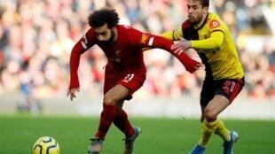 Liverpool a battu Watford (2-0) le 14 décembre 2019 grâce à un doublé de Mohamed Salah.