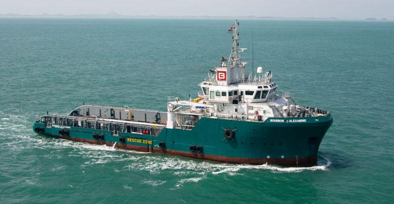 Le Bourbon Alexandre, navire de la marine marchande (photo d'illustration)