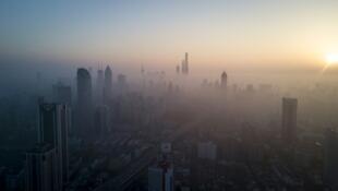 中國從2015到2019年減少PM2.5達到27%