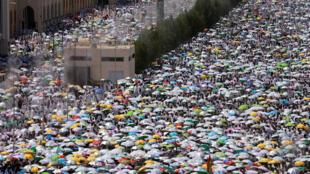 عربستان سعودی- مکه. ۲۱ اردیبهشت/ ١١ سپتامبر ٢٠۱۶