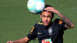O atacante brasileiro Neymar, do Barcelona.