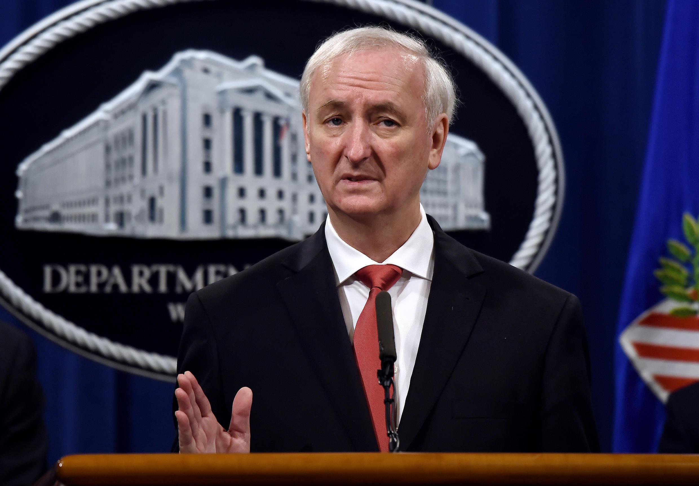 Etats-Unis - Jeffrey Rosen - ministre de la justice américaine