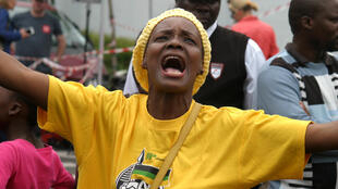 Houghton Home - ANC supporter singing
