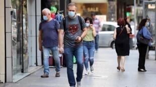La population continue de tenir les autorités pour responsables de la crise économique que traverse le pays. Ici, une rue de Beyrouth, le 28 juillet 2020.