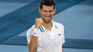 Novak Djokovic beat Aslan Karatsev to reach his ninth Australian Open final.