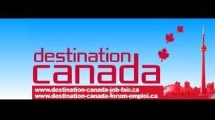 De nombreux Français obtiennent un emploi au Canada grâce au forum Destination Canada.