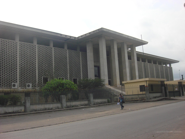 Le tribunal de première instance d'Abidjan.