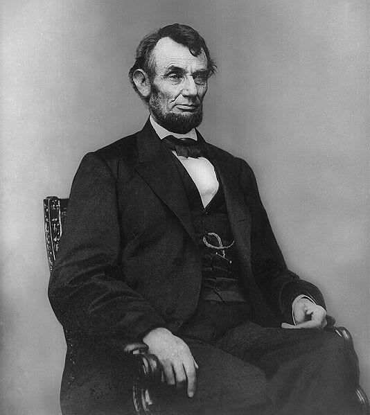 លោកអាប្រាហាំ លីនកុន (Abraham Lincoln) ប្រធានាធិបតីអាមេរិក ក្នុងសម័យសង្រ្គាមស៊ីវិល