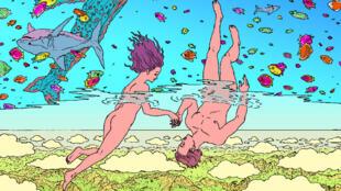 Couverture de la bande dessinée «Alt-Life» de Joseph Falzon et Thomas Cadène.