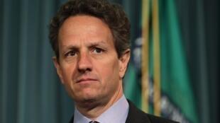 O secretário norte-americano do Tesouro, Timothy Geithner.