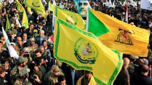 伊拉克数万人哀悼被美军击杀的伊朗高级将领。