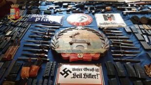 A polícia alemã apreendeu 1.091 armas dentro de grupos neonazistas, apenas em 2018.