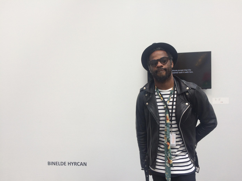 Artista angolano,  Binelde Hyrcan