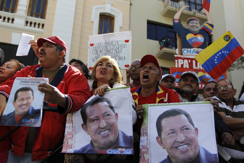 Dân chúng Venezuela rất ngưỡng mộ tổng thống Hugo Chavez