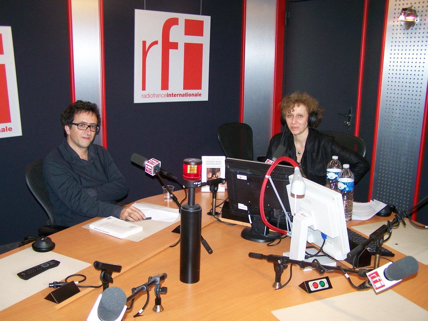 Lionel Naccache et Caroline Lachowsky