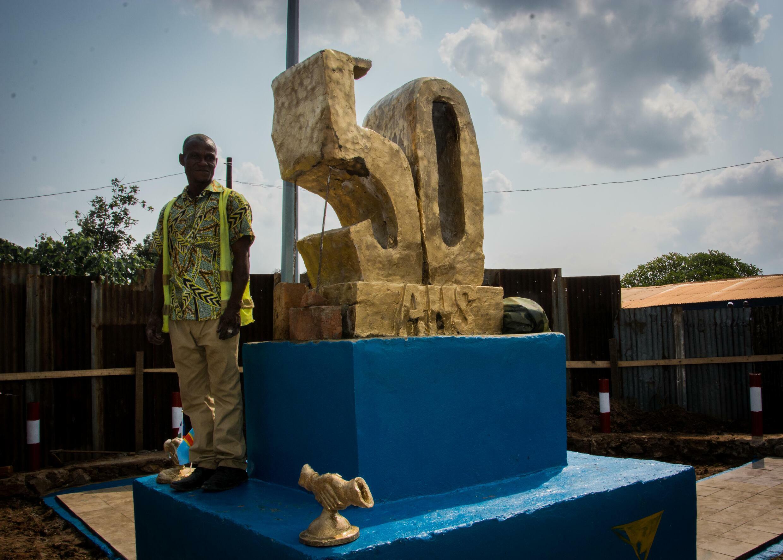 Le monument du cinquantenaire de la ville de Zongo en RDC a été dévoilé vendredi 23 juillet 2021