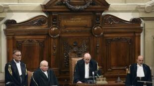 Lectura del veredicto, este 1° de agosto de 2013 en el Tribunal Supremo de Roma.