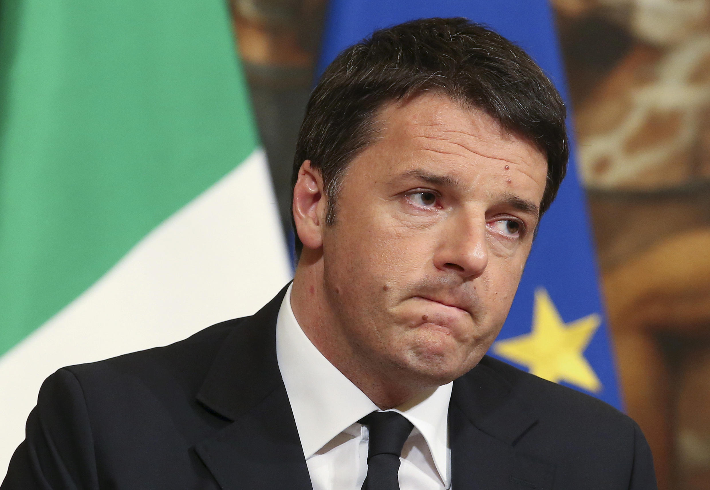 Thủ tướng Ý Matteo Renzi hứa từ chức nếu thất bại trong việc sửa đổi Hiến Pháp.