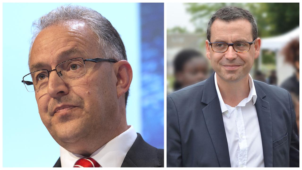 Os prefeitos Philippe Rios e Ahmed Aboutaleb