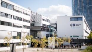 Les locaux de la radio publique allemande Deutsche Welle.