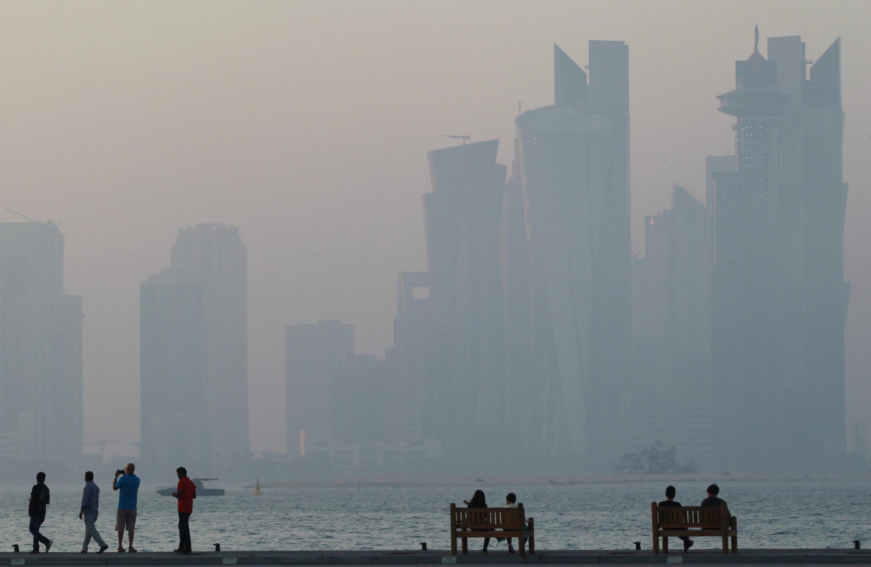 The corniche at Doha
