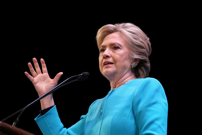 Hillary Clinton, candidata democrata à Casa Branca