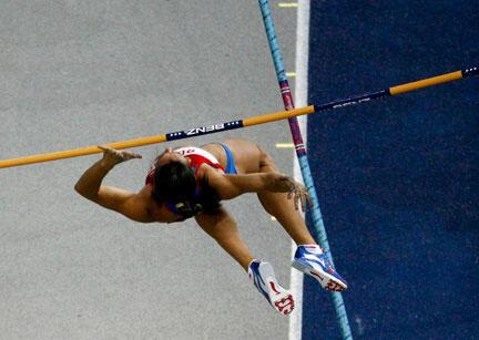 En manquant son dernier essai à 4,80 m, Yelena Isinbayeva a fait une croix sur un troisième titre mondial à la perche.