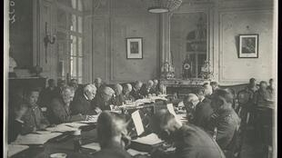 Versailles meeting of the Committe of the inter-Allies