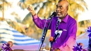 Mgombea urais Zanzibar kupitia chama cha ACT Wazalendo Maalim Seif Sharif Hamad