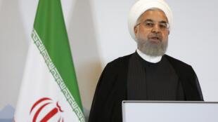 Le président de l'Iran Hassan Rohani AP18184419280872