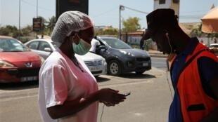 塞内加尔首都达喀尔街头