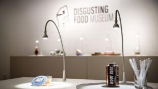 Инсталляция в Музее отвратительной еды, Мальмё, Швеция, 2018.