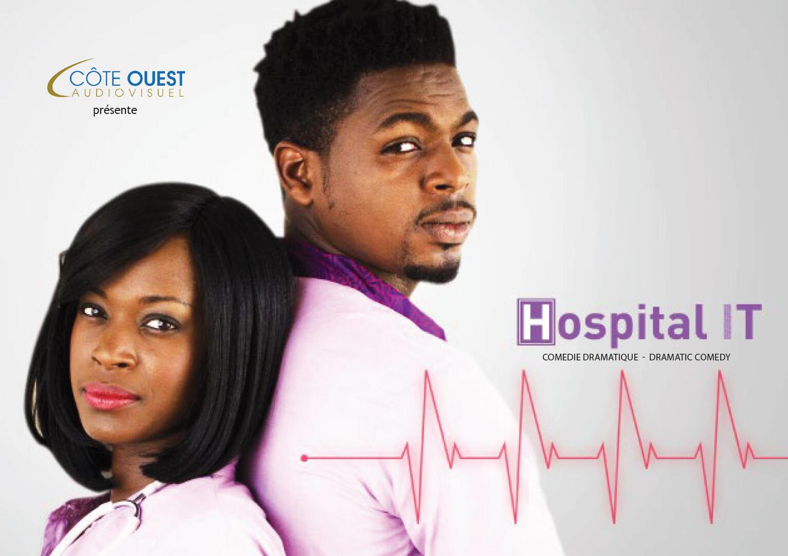 La série togolaise « Hospital IT », produite par Côte Ouest Audiovisuel.