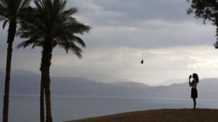 El Mar Muerto.