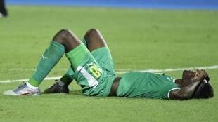 Le Sénégalais Ismaila Sarr (ici lors de la CAN 2019) n'affrontera pas la Mauritanie le 13 octobre 2020 à Thiès, le match ayant été annulé à cause du Covid-19.