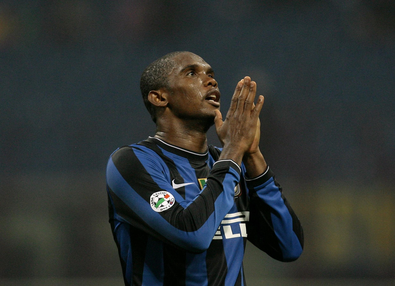 Le Camerounais Samuel Eto'o a marqué avec l'Inter.