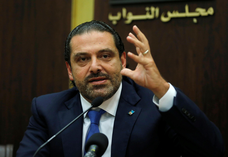 Waziri Mkuu wa Lebanon alietangaza kujiuzulu Saad Hariri.