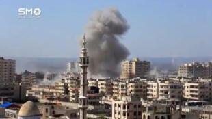 Oposição síria à Rússia que pressione Damasco