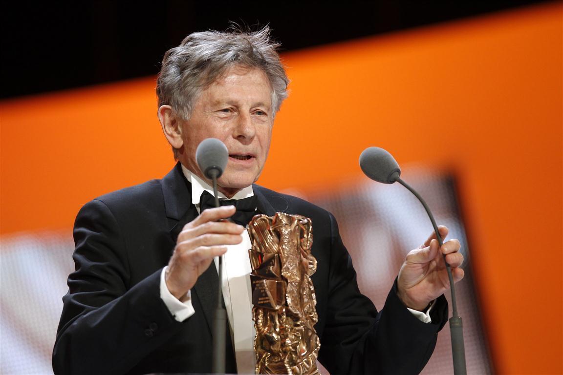Роман Полански на церемонии призов Сезар. Париж, 25 февраля 2011 г.