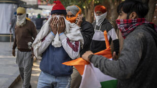 PHOTO New Delhi Manifestations Inde - 26 janvier 2021