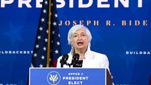 Treasury Secretary Janet Yellen speaks said regulators will have to understand recent trading volatility, including GameStop, before taking action