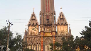 Une église en Birmanie.
