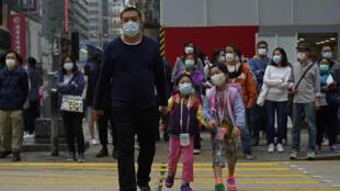12月12日香港街头一景