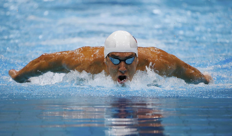 El nadador estadounidense Michael Phelps.