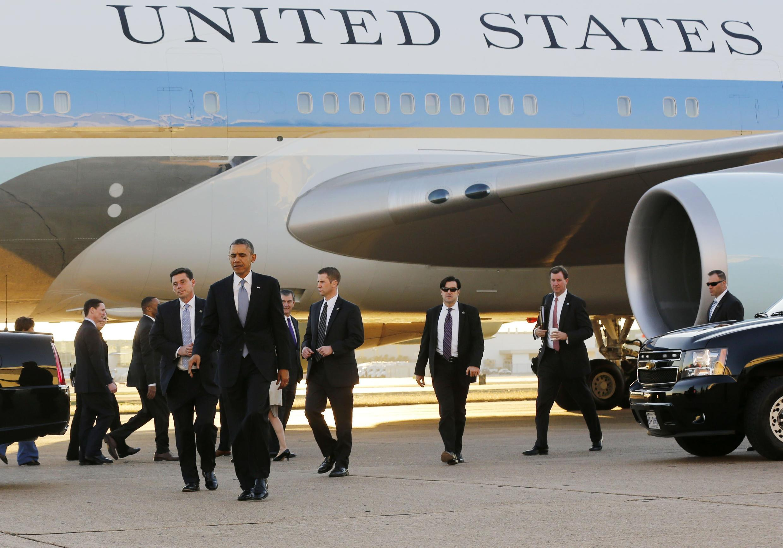 Tổng thống Mỹ Barack Obama tới thăm Dallas, Texas, 06/11/2013