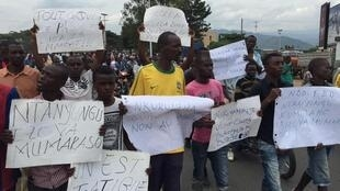 布隆迪反对党指控暗杀反对派领袖的暴行