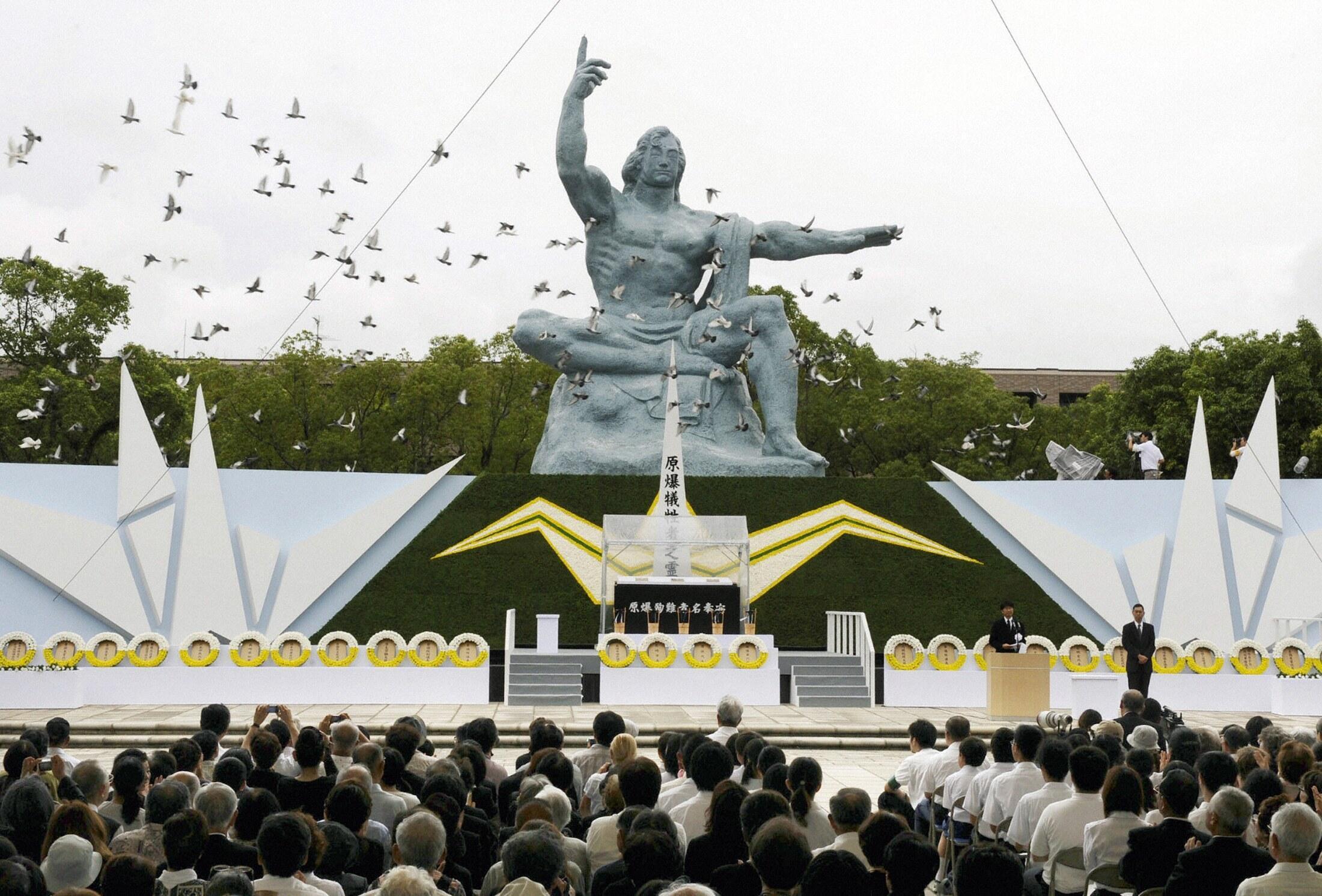 Nagasaki làm lễ tưởng niệm 69 năm bị dội bom nguyên tử tại công viên Hoà bình - Reuters
