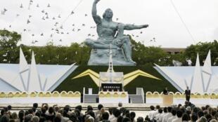 Nagasaki cử hành lễ tưởng niệm các nạn nhân vụ thả bom nguyên tử - Reuters