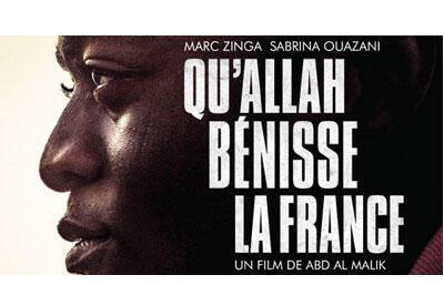 Affiche du film «Qu'Allah Bénisse la France» d'Abd al-Malik.